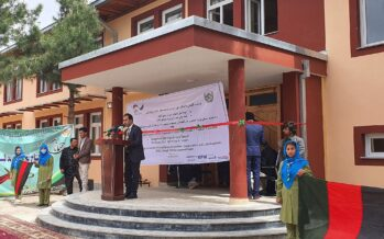 Girls High Schools Inaugurated in Taloqan, Benefiting 11000 Students