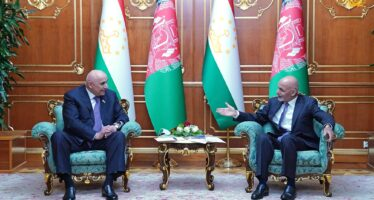 Afghanistan, Tajikistan Sign 5 Cooperation MoUs