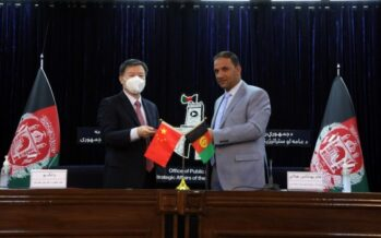 Afghanistan Receives Emergency Food Assistance from China