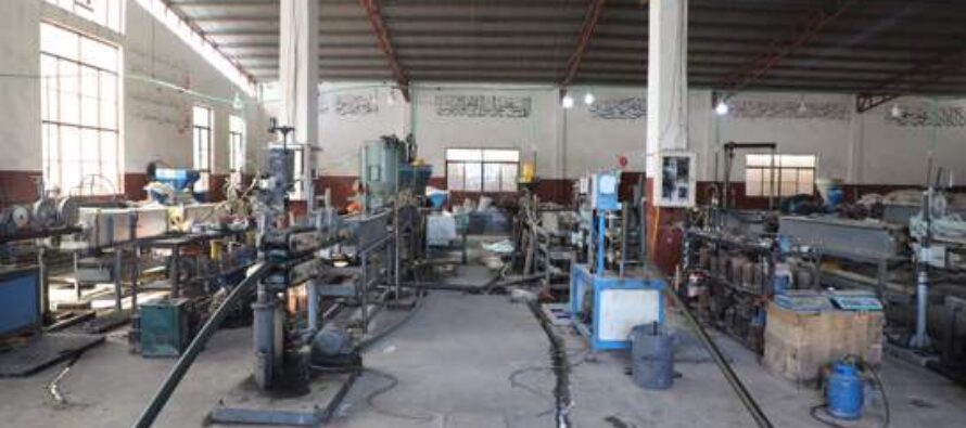 PVC Pipe Production Plant Inaugurated in Kandahar