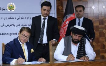 Afghan Government Signs Agreements for Establishment of Two Factories
