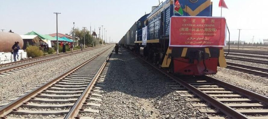 China's First Shipment to Afghanistan Through Hairatan Port Enters Afghanistan