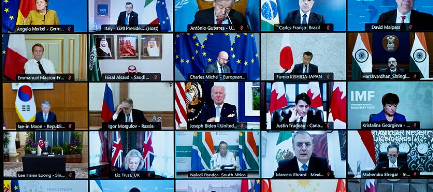 G20 to Channel Most of its Aid to Afghanistan through UN